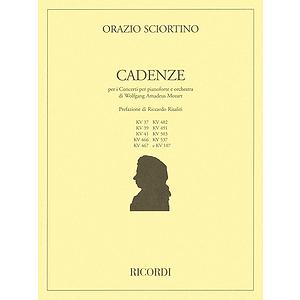 Cadenzas to Mozart Piano Concertos