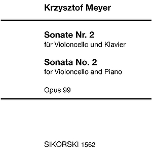 Sonata No. 2 for Violoncello and Piano, Op. 99