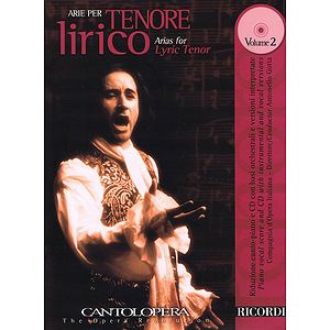 Arias for Lyric Tenor - Vol. 2