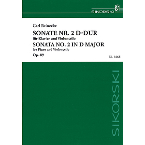 Sonata No. 2 in D Major, Op. 89