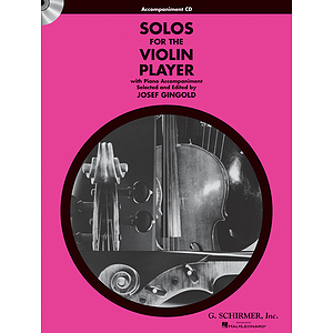 Solos for the Violin Player