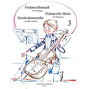Violoncello Music for Beginners - Volume 3