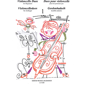 Violoncello Duos for Beginners - Volume 1