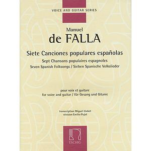 Siete Canciones Populares Españolas/Seven Spanish Folksongs