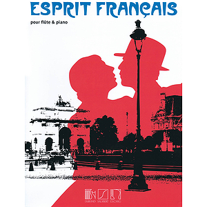 Esprit Francais For Flute And Piano