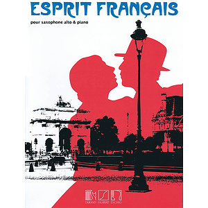 Esprit Francais For Alto Saxophone And Piano