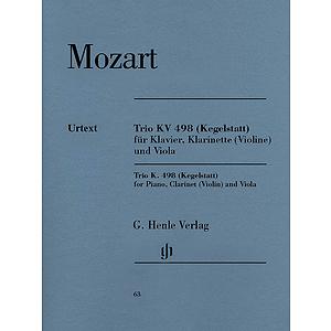 Trio in E-flat Major K. 498 (Kegelstatt)