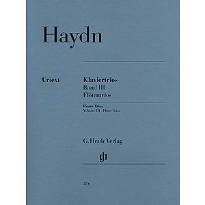 Piano Trios - Volume III: Flute Trios