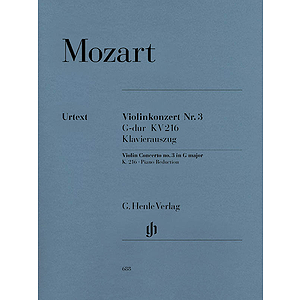 Violin Concerto No. 3 in G Major K216