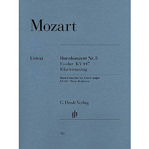 Concerto for Horn and Orchestra No. 3 in E-Flat Major, K.447