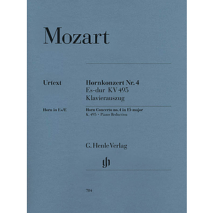 Concerto for Horn and Orchestra No. 4 in E Flat Major, K.495