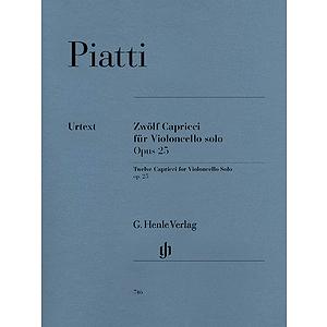 12 Capricci Op. 25