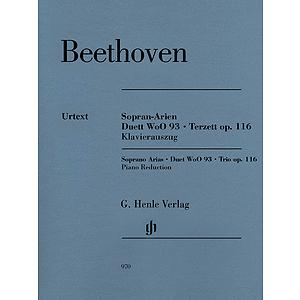Soprano Arias · Duet WoO 93 · Trio, Op. 116