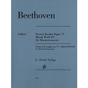 Ludwig van Beethoven - Sextet in E-flat Major, Op. 71 and March, WoO 29