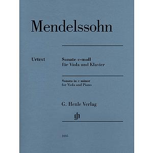 Felix Mendelssohn Bartholdy - Sonata in C minor