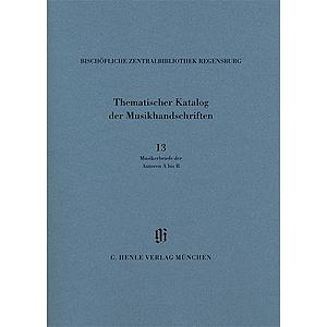 Kbm 14/13 BischÖfliche Zentralbibliothek Regensburg - Musikerbriefe 1, A-r Ed. Haber