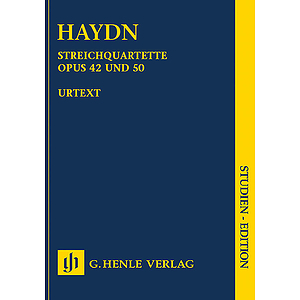 Joseph Haydn - String Quartets, Vol. VI, Op. 42 and Op. 50 (Prussian Quartets)