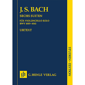 6 Suites for Violoncello BWV 1007-1012