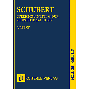 String Quartet in G Major, Op. post. 161 D 887 (Streichquartett G-Dur)