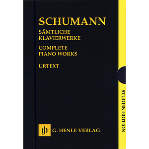 Complete Piano Works - Boxed Set of Study Scores