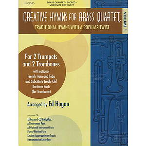 Creative Hymns for Brass Quartet - Volume 1