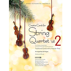Creative Carols for String Quartet - Volume 2