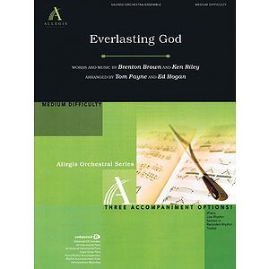 Everlasting God Score/cdrom (allegis Orchestration)