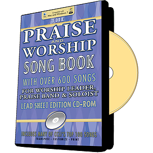 Praise And Worship Songbook - CD-Rom Edition