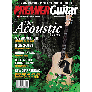 Premier Guitar Magazine Back Issue - July 2009