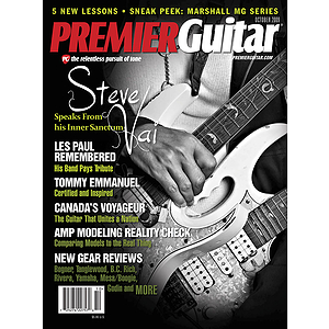 Premier Guitar Magazine Back Issue - October 2009