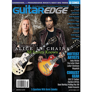 Guitar Edge Magazine Back Issue - March