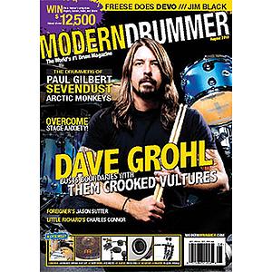 Modern Drummer Magazine August 2010