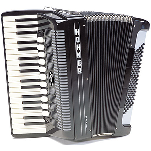 Hohner Amica IV 96 Piano Accordion -  Double Octave w/Tremolo