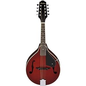 Hohner HMA-TR A-style Mandolin - Transparent Red