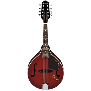 Hohner HMAE-TR A-style Acoustic-Electric Mandolin - Transparent Red