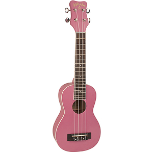 Kohala Rainbow Series Coral Pink Soprano Ukulele