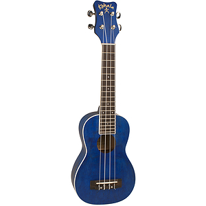 Kohala Rainbow Series Ocean View Blue Soprano Ukulele