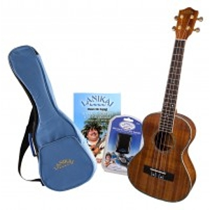 Lanikai LKP-T Koa Pack Tenor Ukulele Package