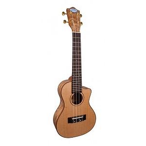 Lanikai LQA-CCA Quilt Ash Acoustic-Electric Concert Ukulele