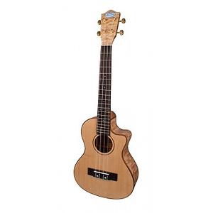 Lanikai LQA-TCA Quilt Ash Acoustic-Electric Tenor Ukulele