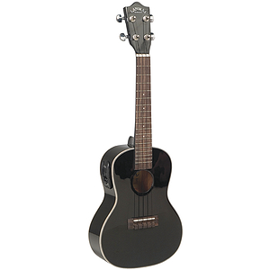 Lanikai LU-21CEBK Acoustic-Electric Concert Ukulele - Black