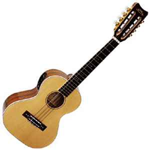 Lanikai O-8E O Series Acoustic-Electric 8-string Tenor Ukulele