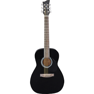 Jay Turser JJ43 3/4-size Acoustic Guitar - Black