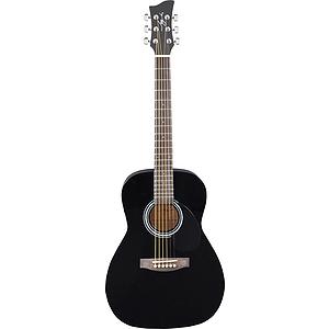 Jay Turser JJ43 3/4-size Acoustic Guitar - Black