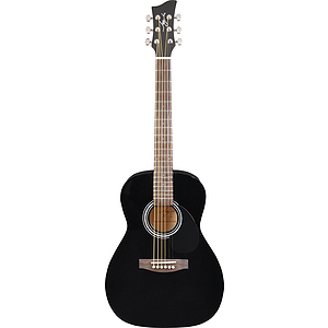 Jay Turser JJ43-PAK 3/4-size Acoustic Guitar Starter Pack - Black