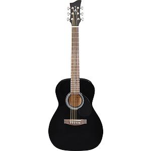 Jay Turser JJ43-PAK 3/4-size Acoustic Guitar Starter Pack - Black