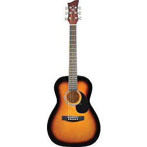 Jay Turser JJ43-PAK 3/4-size Acoustic Guitar Starter Pack - Sunburst