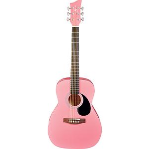 Jay Turser JJ43 3/4-size Acoustic Guitar - Pink