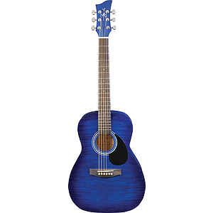 Jay Turser JJ43F 3/4-size Acoustic Guitar - Blue Sunburst
