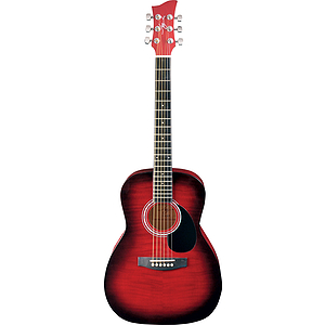 Jay Turser JJ43F 3/4-size Acoustic Guitar - Red Sunburst